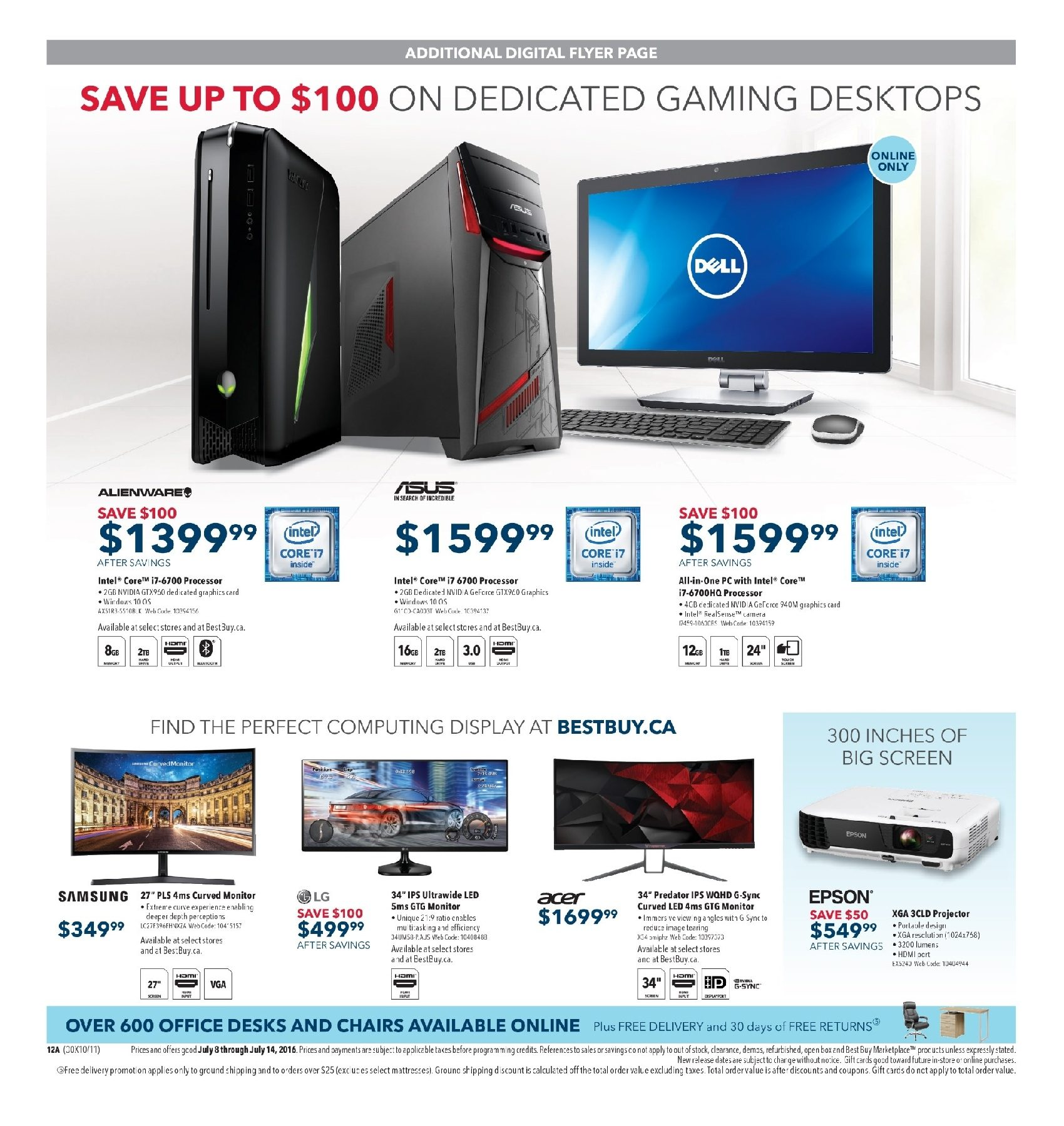 best buy weekly flyer weekly experience 4k in action jul 8 rh redflagdeals com