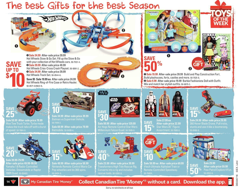 Canadian Tire Weekly Flyer - Weekly - Make It Festive - Nov 18 – 24 ...
