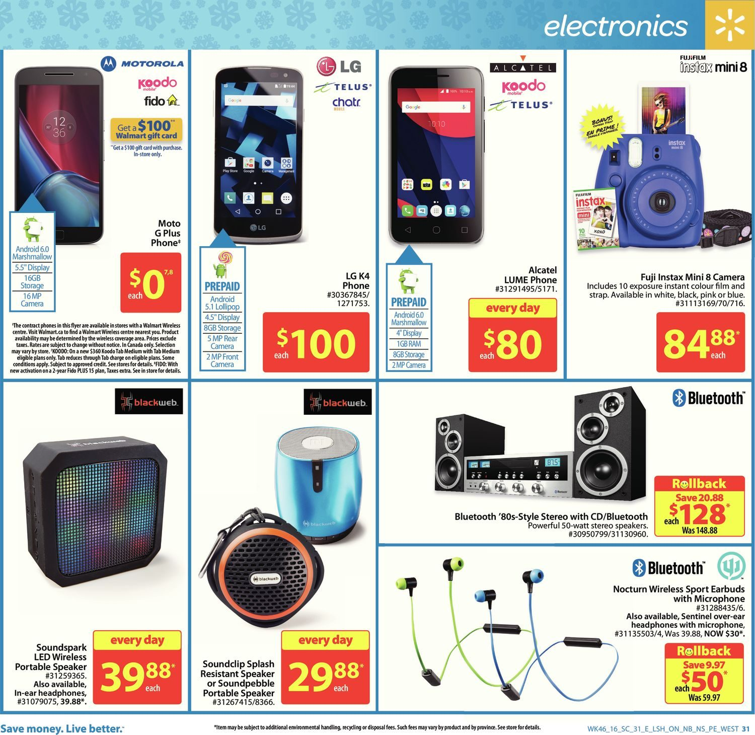 Walmart Weekly Flyer - Supercentre - Everything Holiday