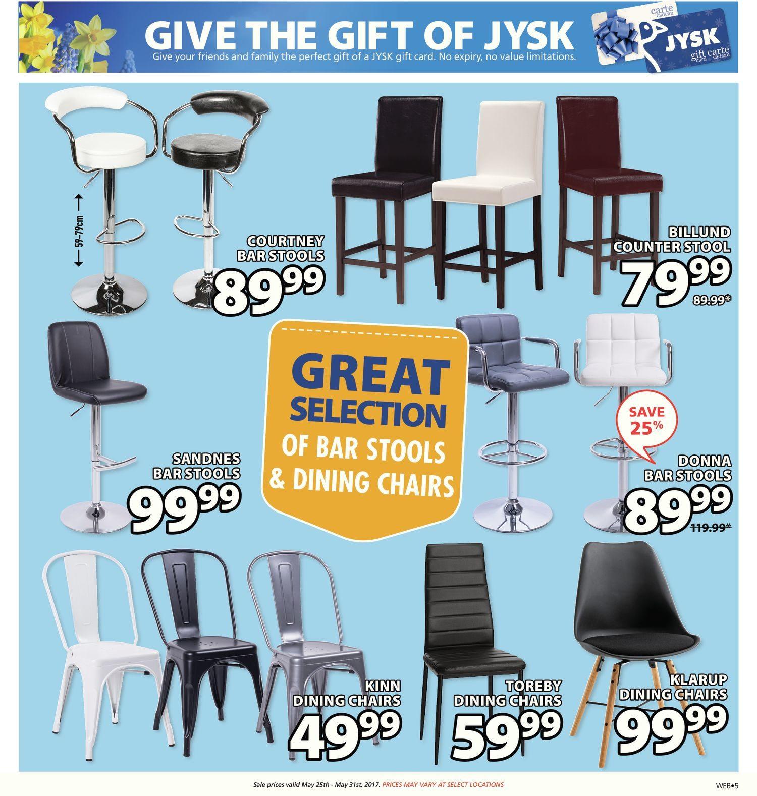 JYSK Weekly Flyer Weekly Hot Deals May 25 – 31