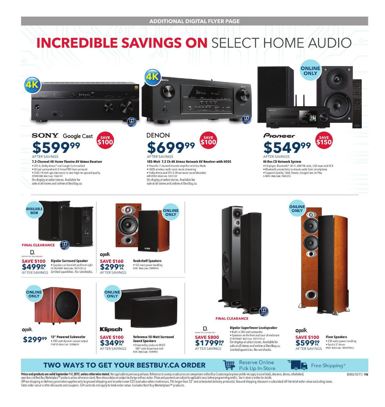 Best Buy Weekly Flyer Labour Day Sale Sep 1 7 Jumbo Power Saver Circuit Diagram Electricity Saving Devices For Homes