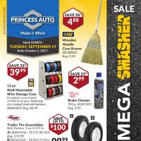 Princess Auto - Mega Smasher Sale Flyer