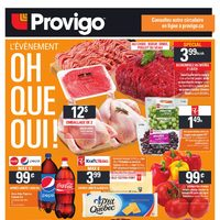 Provigo - Weekly - The Oh Yes We Did! Event  Flyer
