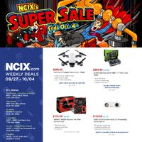 NCIX - Weekly Deals - Super Sale Flyer