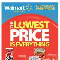 Walmart - Supercentre - The Lowest Price Is Everything Flyer