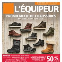 Mark's - 6 Days of Savings - Mix & Match Footwear Event Flyer