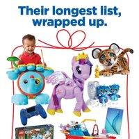 Real Canadian Superstore - Toy Book - Their Longest List, Wrapped Up Flyer