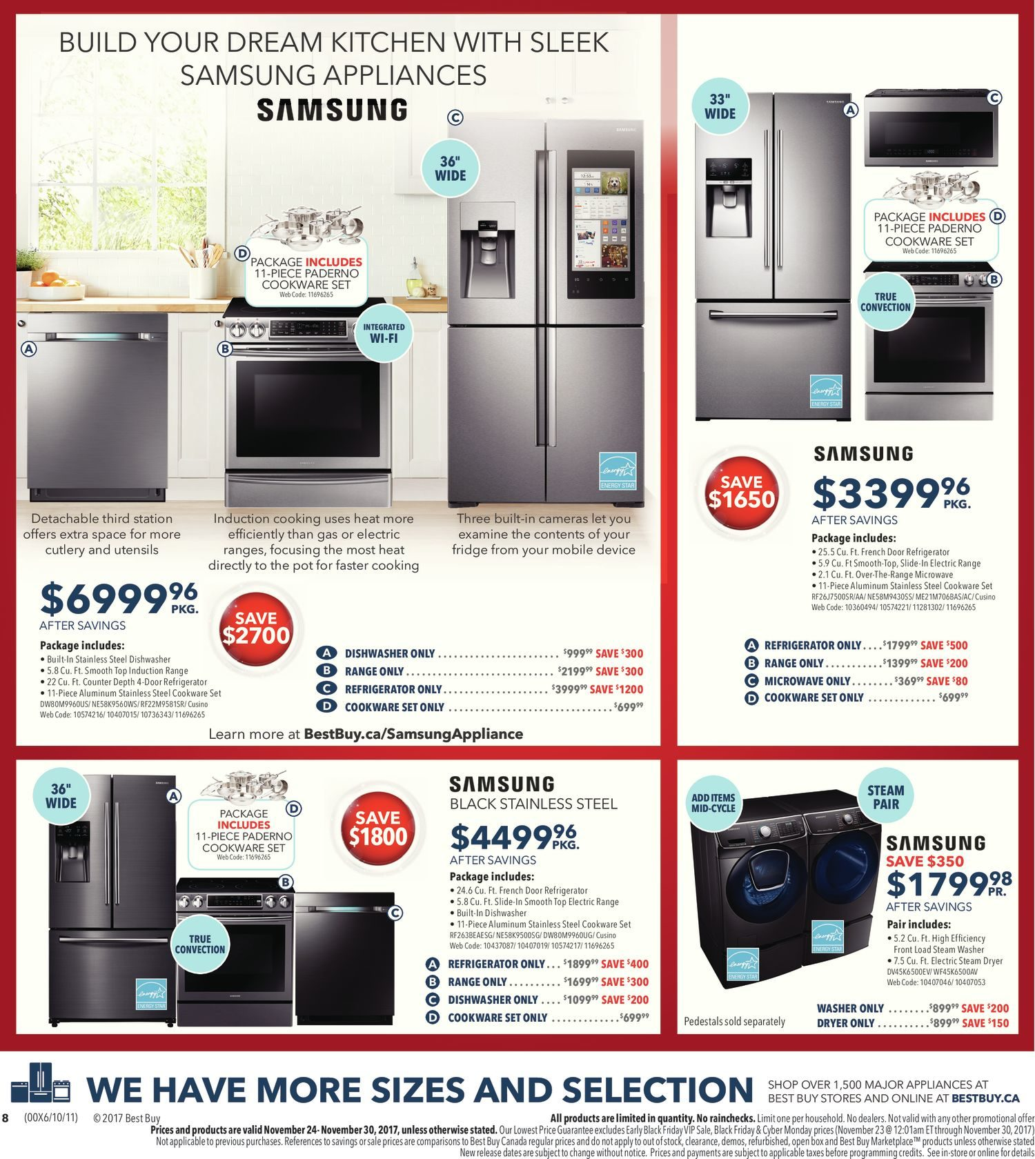 Best Buy Weekly Flyer Black Friday Sale Nov 24 30 Midrange Coustic Ca Sp 300 Mid