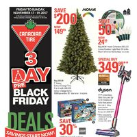 - 3 Day - Pre-Black Friday Deals Flyer