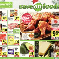 Save On Foods - Weekly Specials - Going The Extra Mile Flyer