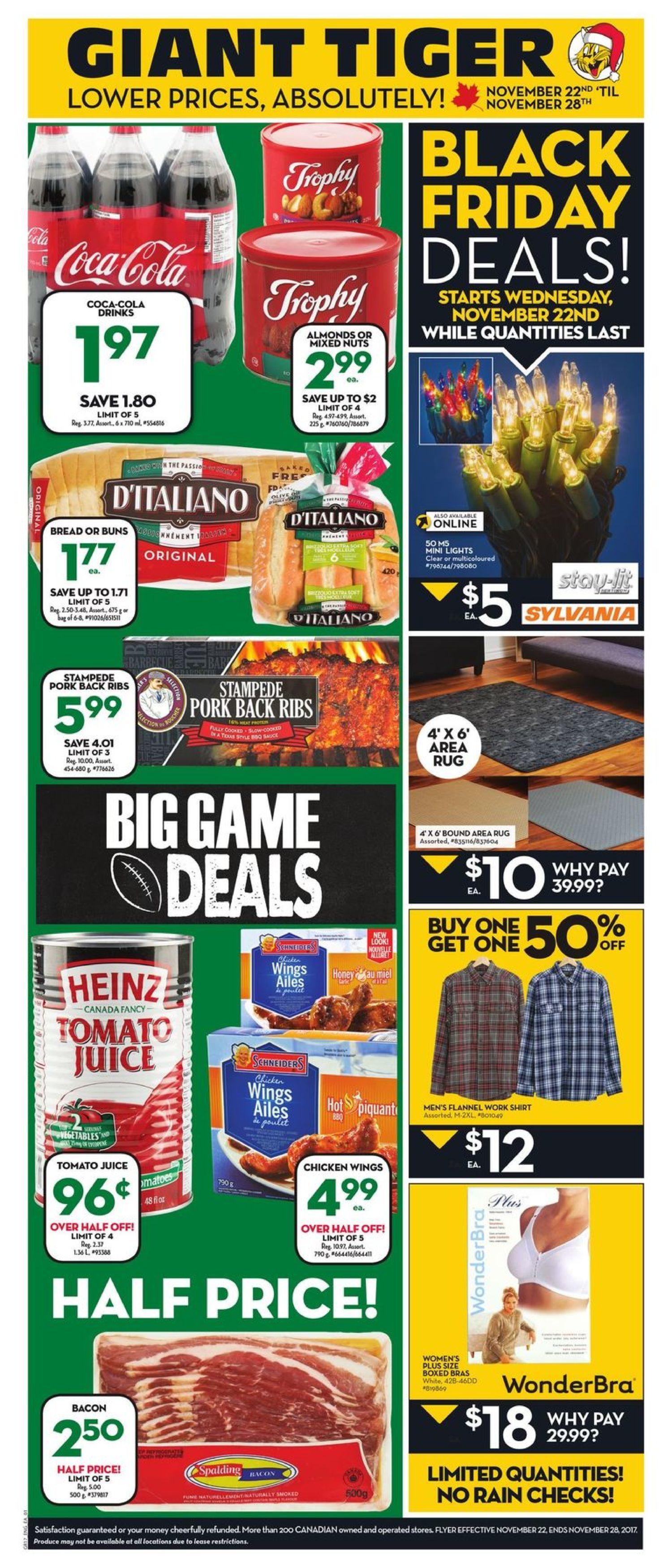 Giant Tiger Weekly Flyer Black Friday Deals Nov 22 28 Redflagdeals Com