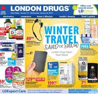 London Drugs - 6 Days of Savings - Winter Travel Flyer