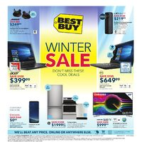 Best Buy - Weekly - Winter Sale Flyer