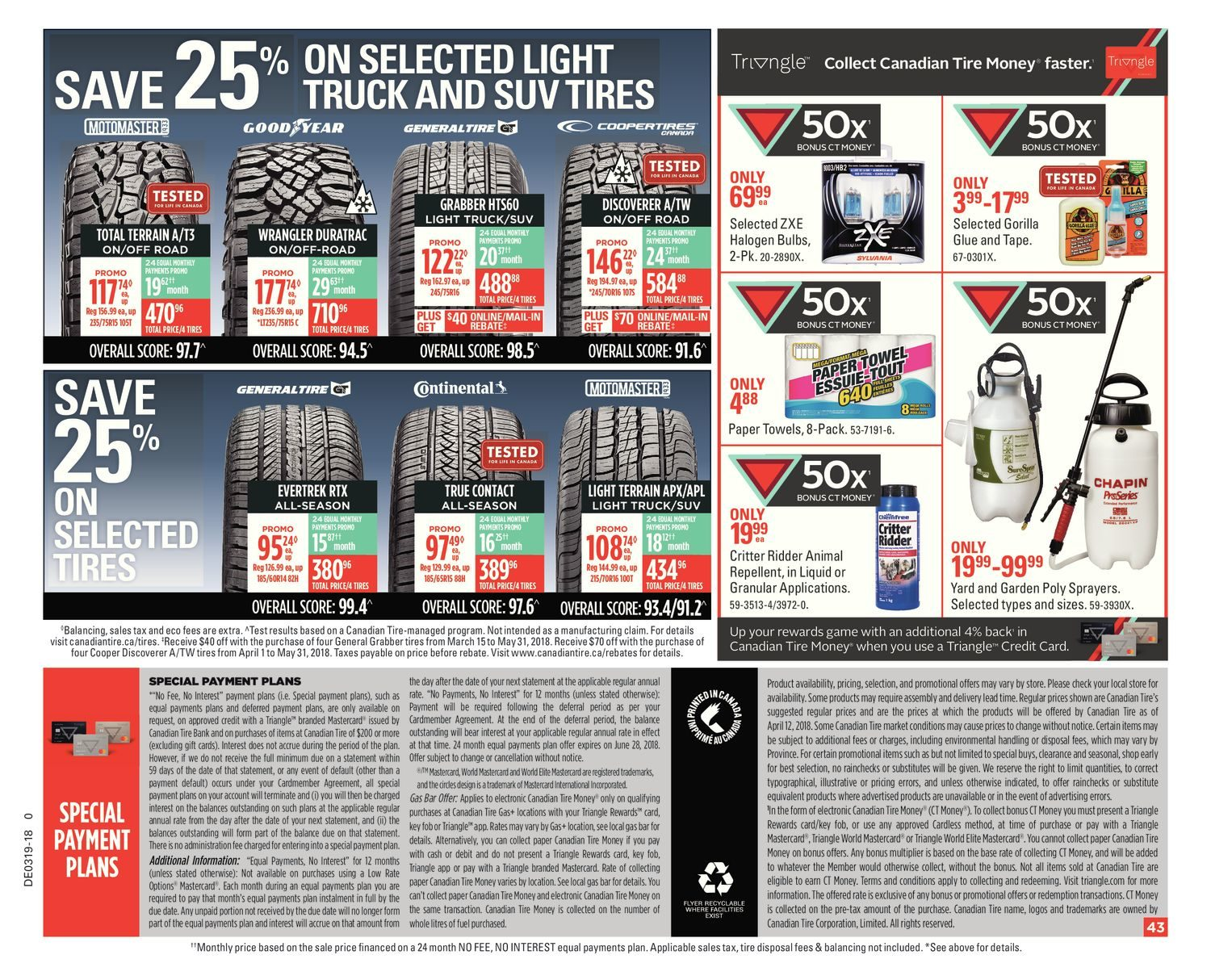 Canadian Tire Weekly Flyer Deals Chef Want Happy Spring Glue 502 Buy Super 502circuit Board Silicone Potting May 4 10