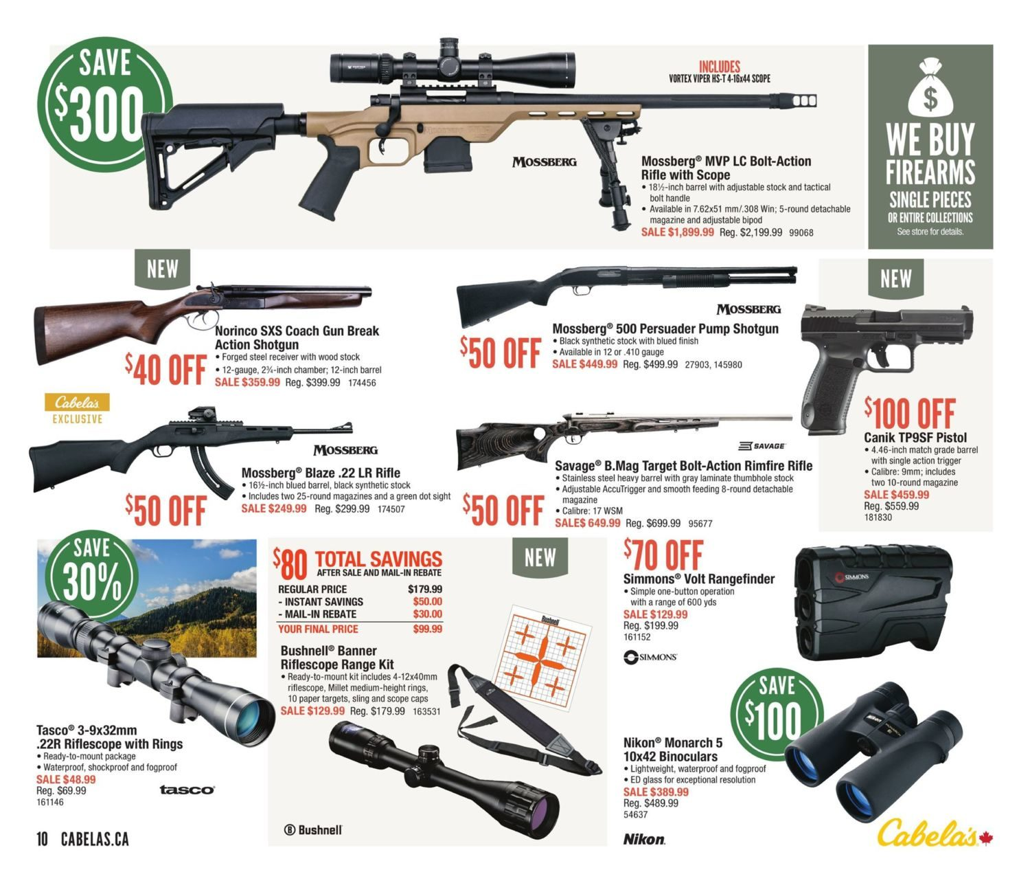 Cabelas Weekly Flyer - Tent & Tackle - May 10 – 21