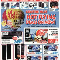 Centre HIFI - Weekly - Hot Flying Deals on Now! Flyer