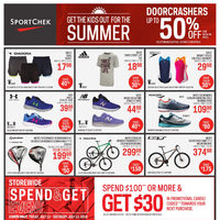 Sport Chek - Get The Kids Out For The Summer Flyer