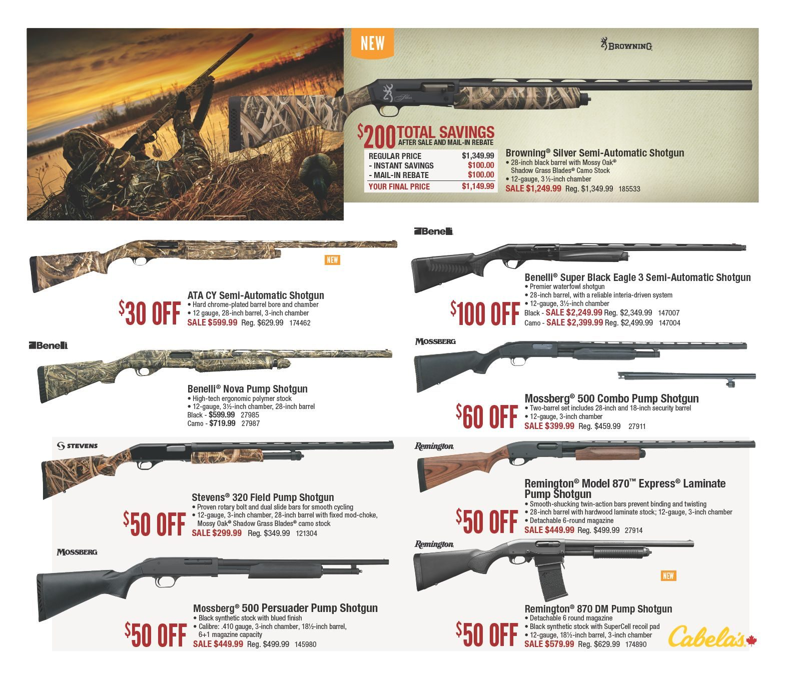 Cabelas Weekly Flyer Fall 2018 Hunting Classic Aug 10 26
