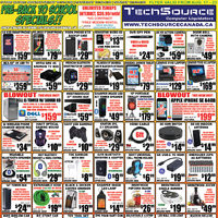Tech Source - Pre-Back To School Specials!! Flyer
