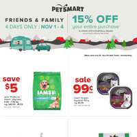 PetSmart - Treats Membership Only - 'Tis The Season Flyer