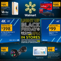 US Black Friday - Walmart US - Light Up Black Friday Flyer