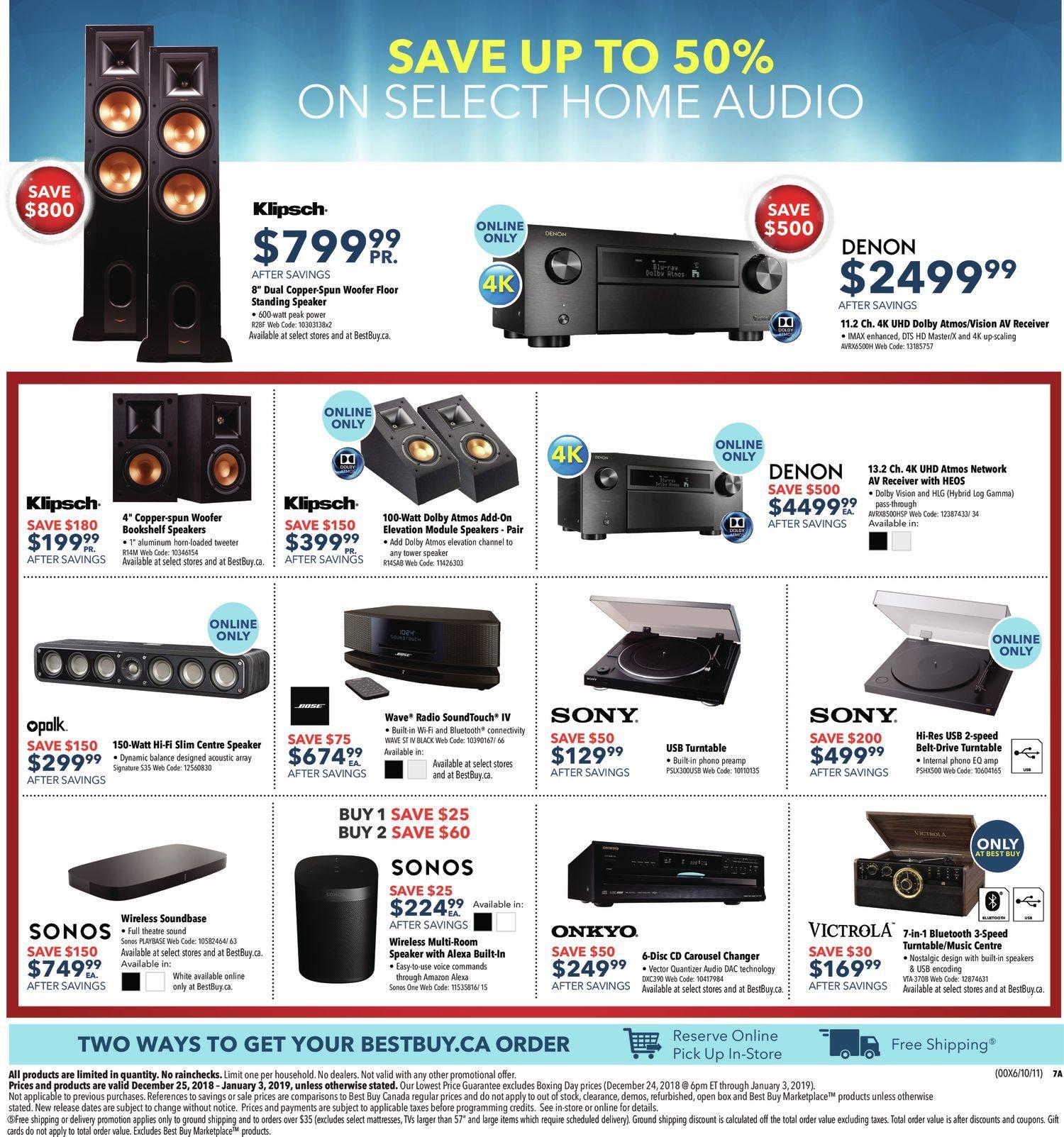 Best Buy Weekly Flyer - Boxing Day Sale - Dec 25 – Jan 3