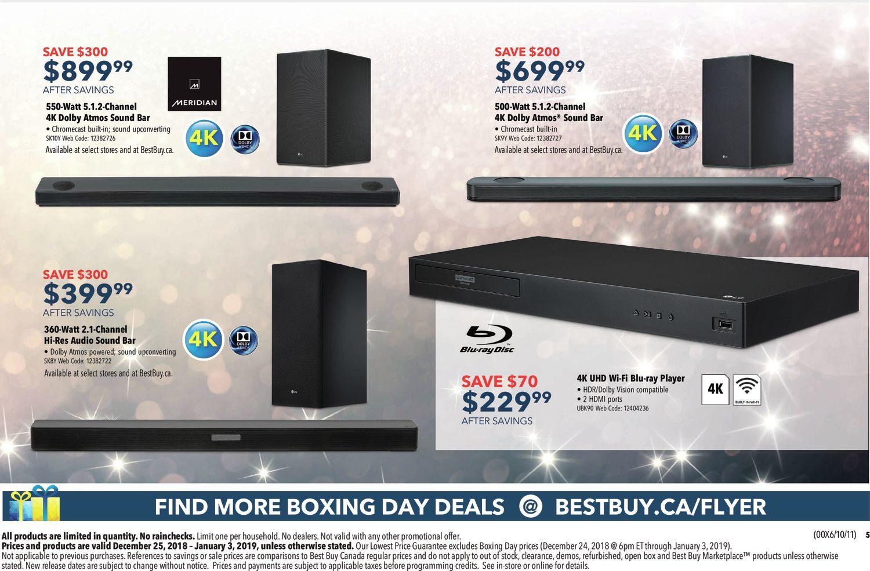 aecc951ffb4 Best Buy Weekly Flyer - Boxing Day Sale - Dec 25 – Jan 3 - RedFlagDeals.com