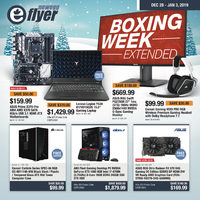 Newegg - Boxing Week Extended Flyer