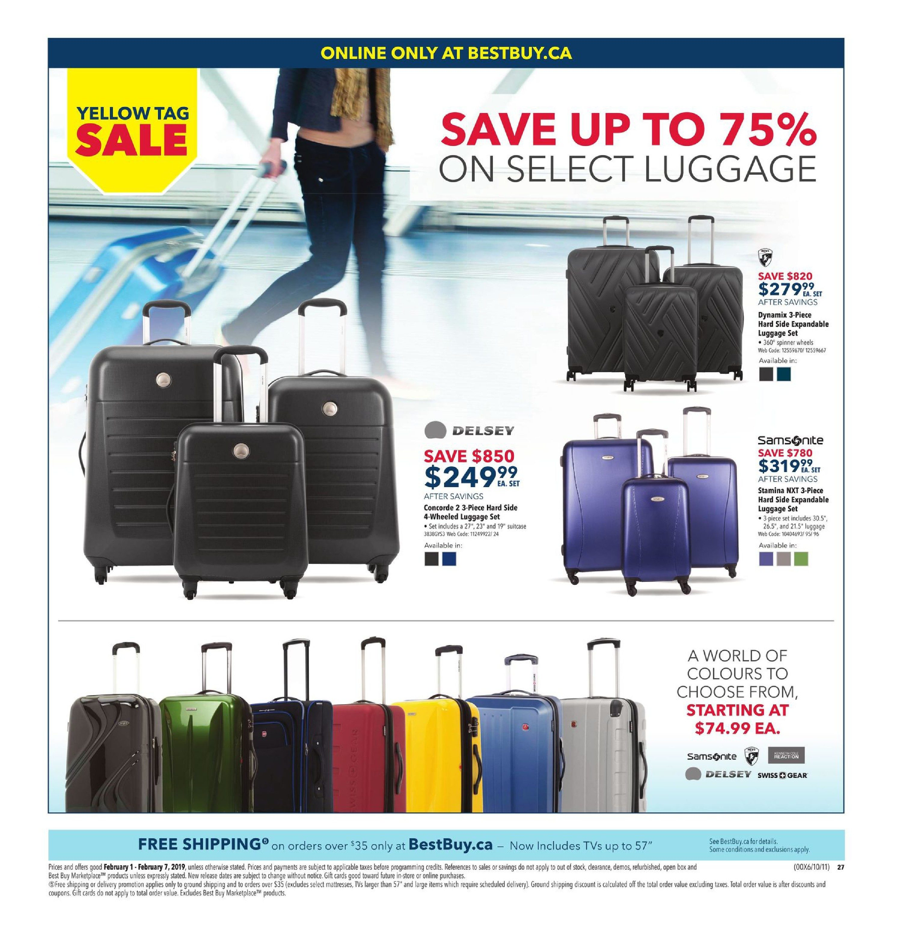 9c54f0363 Best Buy Weekly Flyer - Weekly - Yellow Tag Sale - Feb 1 – 7 -  RedFlagDeals.com