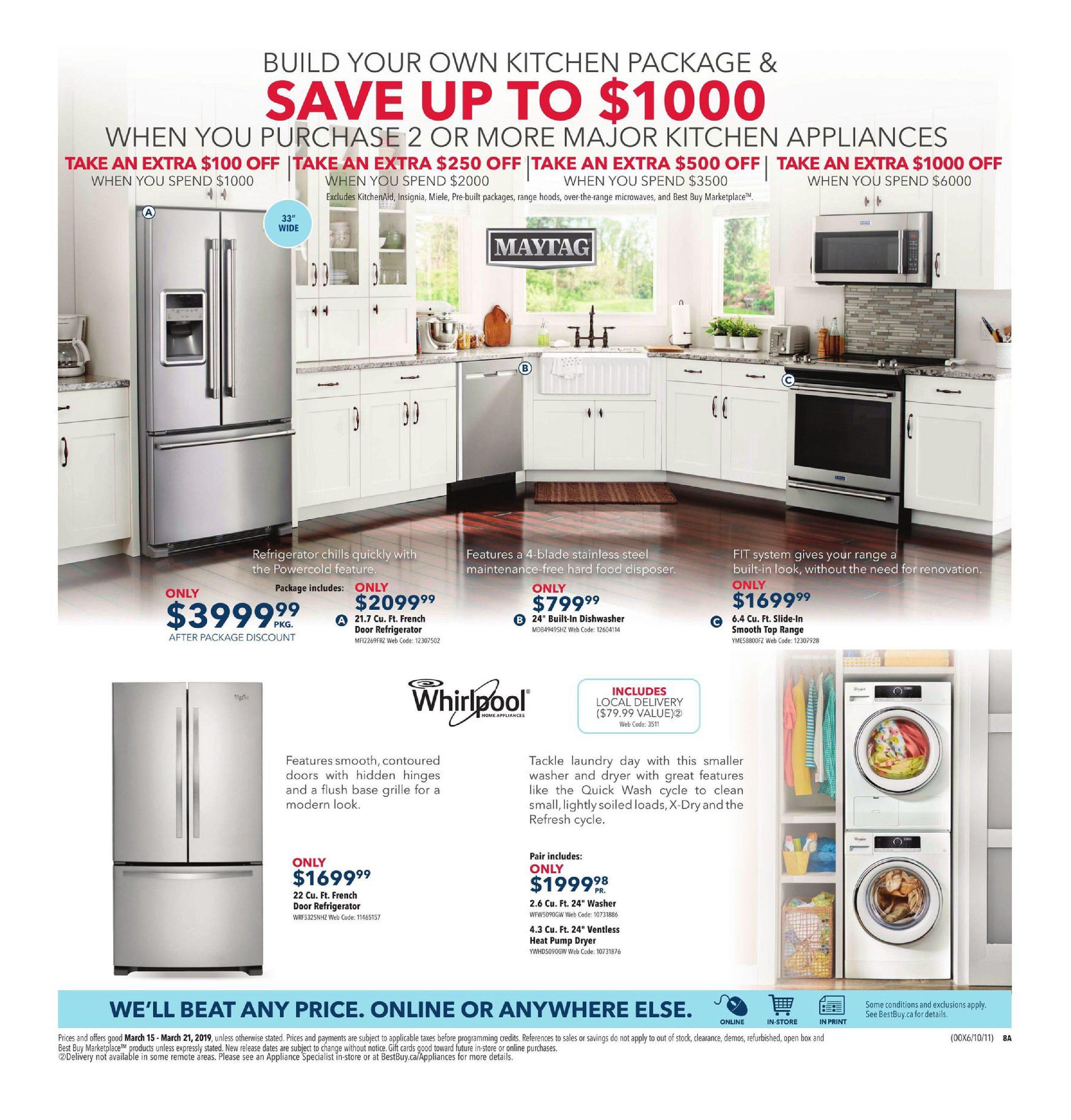 Best Buy Weekly Flyer - Weekly - Huge Savings on Home Tech - Mar 15