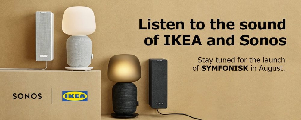 IKEA and Sonos Join Forces to Release New Smart Bookshelf Speaker and Lamp This August