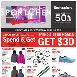 Sport Chek - 2 Weeks of Savings Flyer