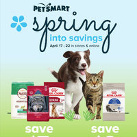 PetSmart - Spring Into Savings Flyer