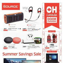 The Source - Summer Savings Sale Flyer