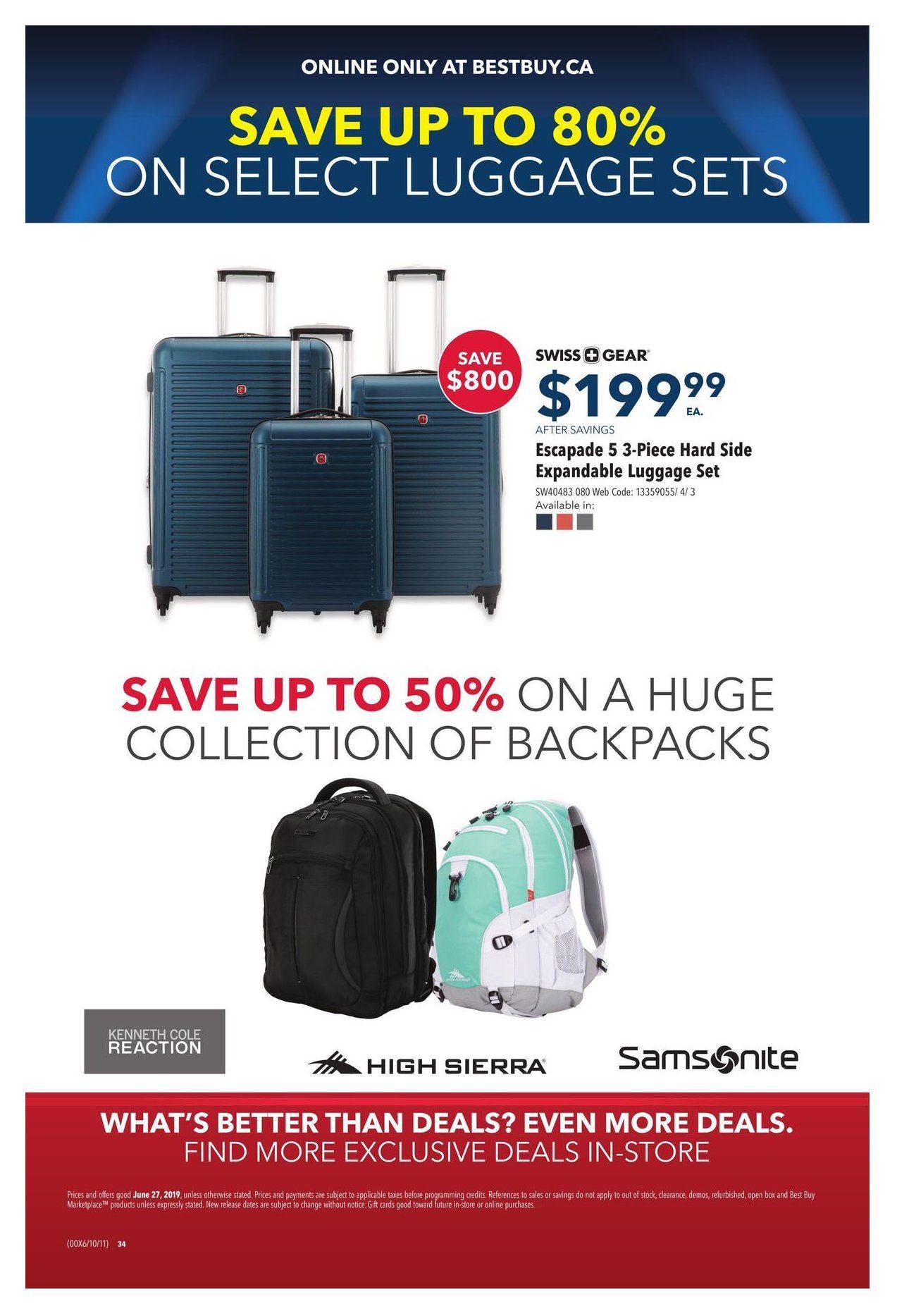 Best Buy Weekly Flyer - V I P  Sale - Jun 27 – 27