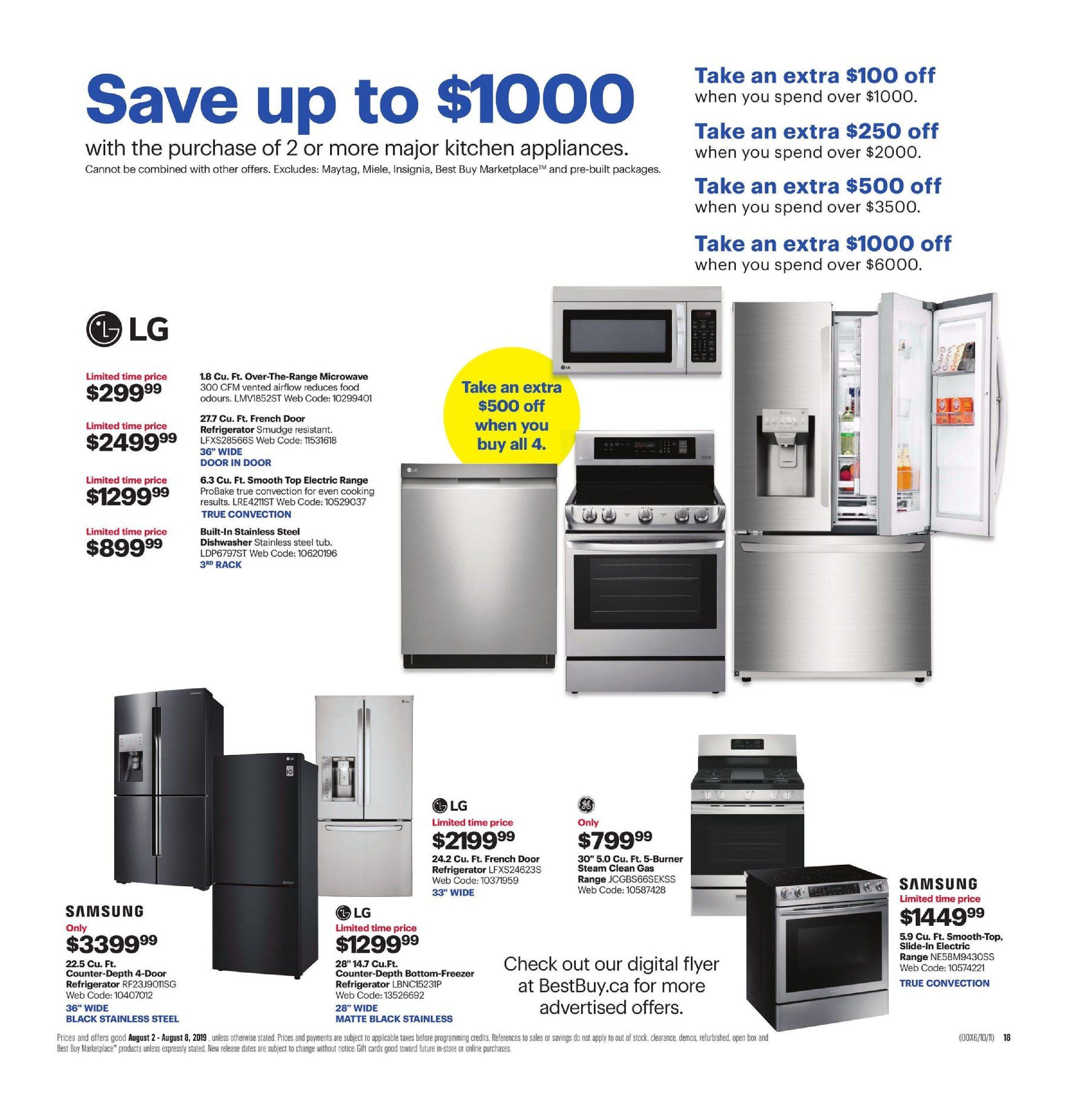 Best Buy Weekly Flyer - Weekly - Soar To The Top - Aug 2 – 8