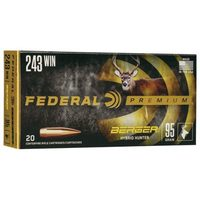 Federal Premium Berger Hybrid Hunter Rifle Ammo