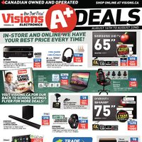 Visions Electronics - Weekly - A+ Deals Flyer