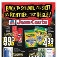 Jean Coutu - Back To School, All Set! Flyer