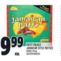 Patty Palace Jamaican Style Patteis