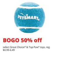Great Choice & Top Paw Toys