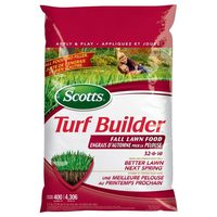 Scotts 8611 Sq. Ft. Turf Builder Fall Lawn Food 32-0-10
