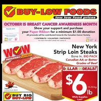 Buy-Low Foods - Weekly - Dollar Deals! Flyer