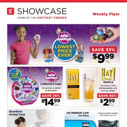 Showcase - Weekly Specials Flyer