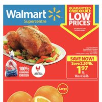 Walmart - Supercentre - Guaranteed Unbeatable Low Prices Flyer