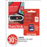 Sandisk 16GB USB Or SD Cards