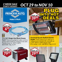 - Plug Into Hot Deals Flyer