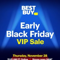 - Early Black Friday V.I.P. Sale Flyer