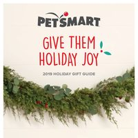 PetSmart - 2019 Holiday Gift Guide Flyer