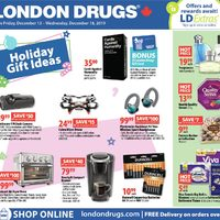 London Drugs - 6 Days of Savings - Holiday Gift Ideas Flyer